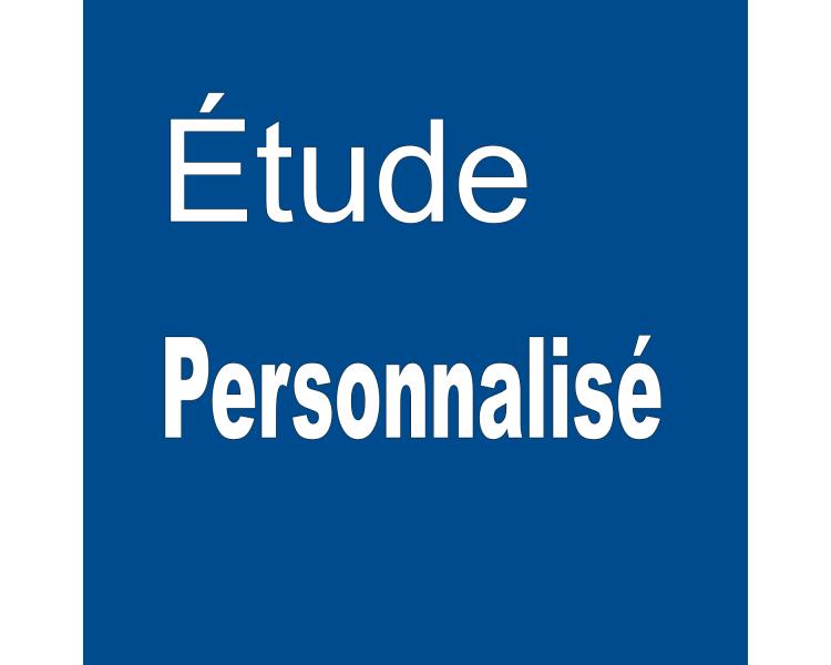 Etude Personnalisée 1,5 €/min par téléphone ou visioconférence